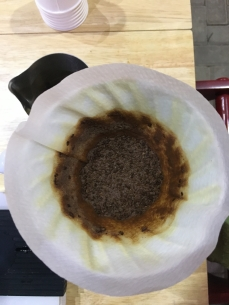 Was V60-ing with Guatemala Geisha in Jakarta Coffee Week as a part of the coffee-nternship. Too rich for my blood!