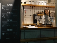 The barista, she is a great one!